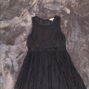 Mini Dress with mesh